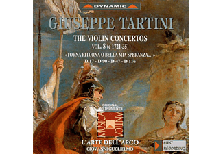 L  Arte Dell  Arco (on Original Ins - Sämtliche Violinkonzerte Vol.8 - (CD)