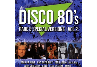 VARIOUS - Disco 80s Rare & Special Versions,Vol.2 - (CD)