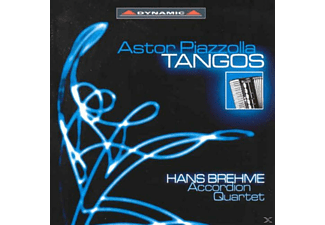 Brehme Arccordion Quartet, Hans Brehme Akkordeon Quartett - Tangos - (CD)