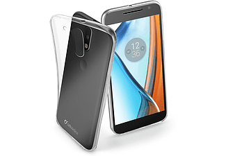 CELLULAR-LINE Motorola Moto G4 Backcover Transparant