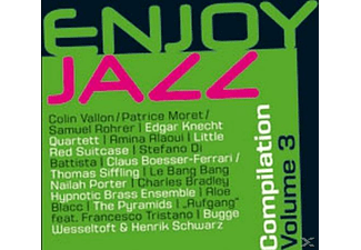 VARIOUS - Enjoy Jazz Compilation Vol. 3 - (CD)