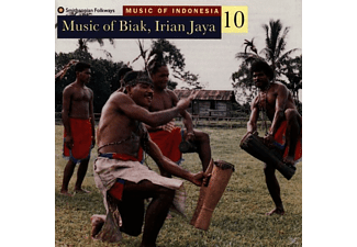 VARIOUS - INDONESIA VOL. 10: BIAK, IRIAN, JAV - (CD)