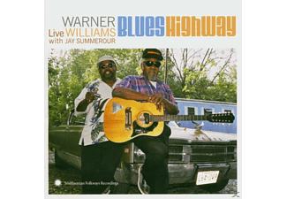 WARNER W. JAY SUMMEROUR Williams - BLUES HIGHWAY. LIVE - (CD)