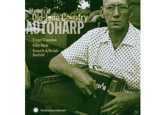 VARIOUS - Masters Of Oldtime Country Autoharp - (CD)