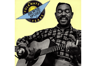 Brownie McGhee - THE FOLKWAYS YEARS: 1945-59 - (CD)