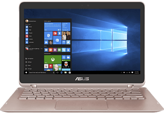 ASUS UX360UA-C4160T, Ultrabook mit 13.3 Zoll Display, Core i7 Prozessor, 8 GB RAM, 512 GB SSD, HD-Grafik 520, Gold