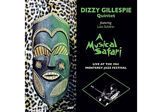 Dizzy Gillespie - A Musical Safari: Live at Monterey (High Quality Edition) (Vinyl LP (nagylemez))