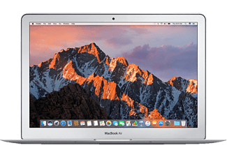 APPLE MacBook Air mit spanischer Tastatur, Notebook mit 13.3 Zoll Display, Core i5 Prozessor, 8 GB RAM, 128 GB Flash, HD-Grafik 6000, Silber