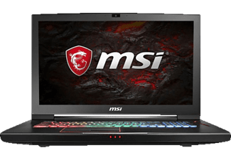 MSI GT73VR 7RF-490DE Titan Pro, Gaming Notebook mit 17.3 Zoll Display, Core™ i7-7700HQ Prozessor, 16 GB RAM, 256 GB SSD, 1 TB HDD, GeForce GTX 1080, Schwarz