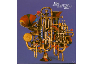 Free At The German Jazz Festival 1966 (2-cd) - Free At The German Jazz Festival 1966 (2-CD) - (CD)
