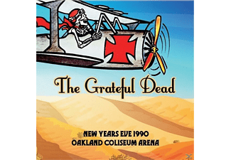 Grateful Dead - New Years Eve 1990 Oakland Coliseum Arena - (CD)