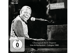 Champion Jack Dupree - Live At Rockpalast - (CD + DVD Video)