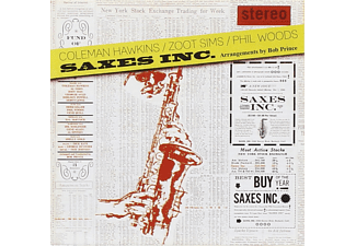 Coleman Hawkins, Zoot Sims, Phil Woods - Saxes Inc. (CD)