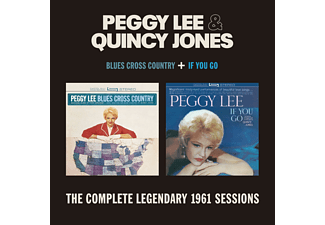 Peggy Lee & Quincy Jones - Blues Cross/If You Go (CD)
