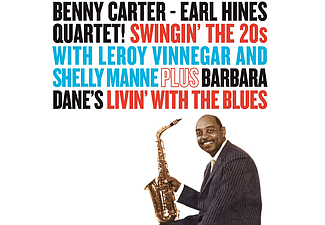 Earl Hines, Benny Carter, Earl Hines Quartet - Swingin' the 20s / Livin' with the Blues (CD)