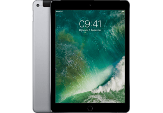 APPLE iPad Air 2 Wi-Fi + Cellular, Tablet mit 9.7 Zoll, 32 GB Speicher, LTE, iOS 9, Space Grau