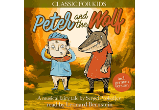 Peter and the Wolf-Classic for Kids - 1 CD - Hörbuch