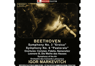 Orchestre Des Concerts Lamoureux - Markewitsch Conducts Beethoven: Symphonies Nos. 3 & 6 - (CD)