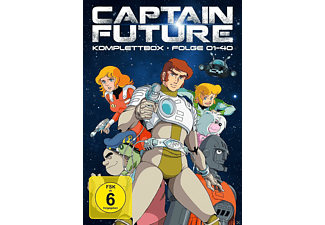 Captain Future - Komplettbox - (DVD)