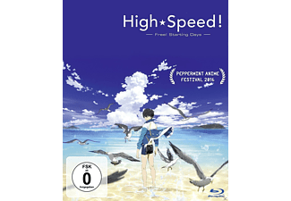 High Speed!: Free! Starting Days (Movie) - (Blu-ray)