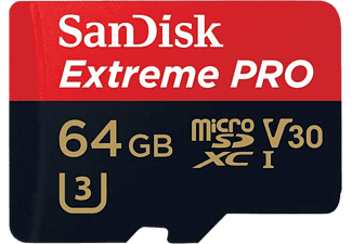 SANDISK EXTREME PRO Micro SDHC 64GB -95MB/S V30
