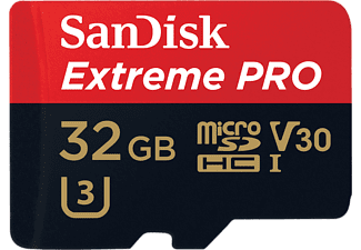SANDISK EXTREME PRO Micro SDHC 32 GB -95MB/S V30