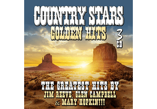 Jim Reeves, Glen Campbell, Mary Hopkin - Country Stars - Golden Hits - (CD)