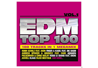 VARIOUS - EDM TOP 100 VOL. 1 - (CD)