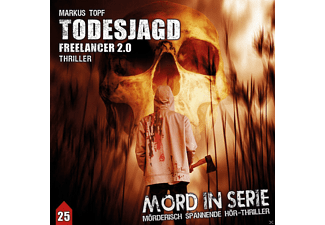 Mord in Serie 25: Todesjagd-Freelancer 2.0 - 1 CD - Krimi/Thriller