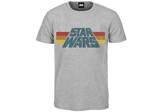 Star Wars T-Shirt Vintage Logo 1977, S