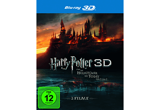 Harry Potter und die Heiligtümer des Todes 1+2 - (3D Blu-ray)