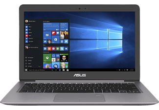 ASUS UX310UQ-FC365T, Notebook mit 13.3 Zoll Display, Core™ i7 Prozessor, 8 GB RAM, 1 TB HDD, 256 GB SSD, GeForce 940MX, Quartz Grau