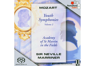 Sir Neville Marriner - Jugendsinfonien 20,45/+Vol.2 - (SACD Hybrid)