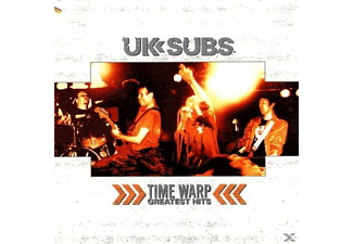 UK Subs - Time Warp-Greatest Hits - (Vinyl)