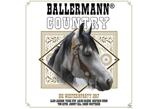 VARIOUS - Ballermann Country - Die Westernparty 2017 - (CD)