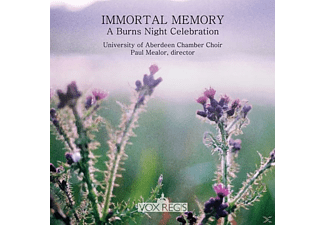 Choir Of King's College A - Immortal Memory-A Burns Night Celebration - (CD)
