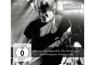George & The Destroyers Thorogood - Live At Rockpalast-Dortmund 1980 - (CD + DVD Video)