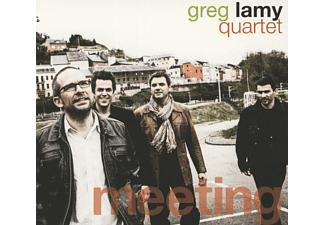 Greg Lamy Quartet - Meeting - (CD)