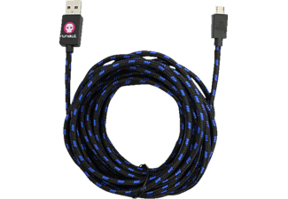 RUBBER ROAD 1020011 OFF. PS4 4M PREMIUM PLAY & CHARGE CABLE, Charge Cable