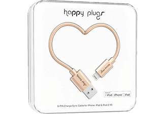 HAPPY PLUGS Lightning To USB Şarj ve Senkronizasyon Kablosu (2.0m) Champagne