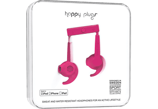 HAPPY PLUGS Sport MFI Cerise (İn Paper Box) Kulaklık