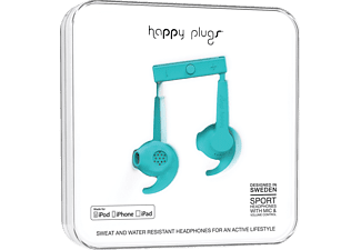HAPPY PLUGS Sport MFI Turquoise (İn Paper Box) Kulaklık