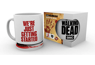 The Walking Dead Tasse We're Just Getting Started