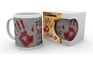 The Walking Dead Tasse Handabdrücke