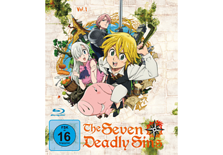 The Seaven Deadly Sins 1 - (Blu-ray)