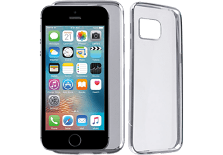 VOLTE-TEL Θήκη Iphone SE/5S/5 Faceplate Electroplating Silver - (5205308173714)