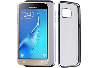 VOLTE-TEL Θήκη Samsung J3 2016 J320 Faceplate Electroplating Grey - (5205308173783)