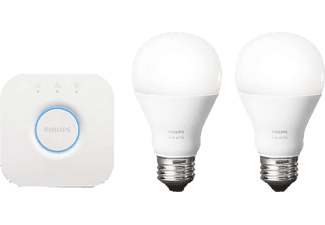 PHILIPS HUE White Starter Pack E27 (warm wit licht)