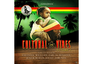 VARIOUS - Cultural Vibes,Vol.1 - (CD)