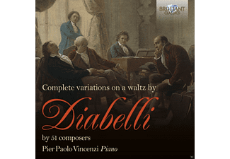 Pier Paolo Vincenzi - Complete Variations On A Waltz By Diabelli [CD]